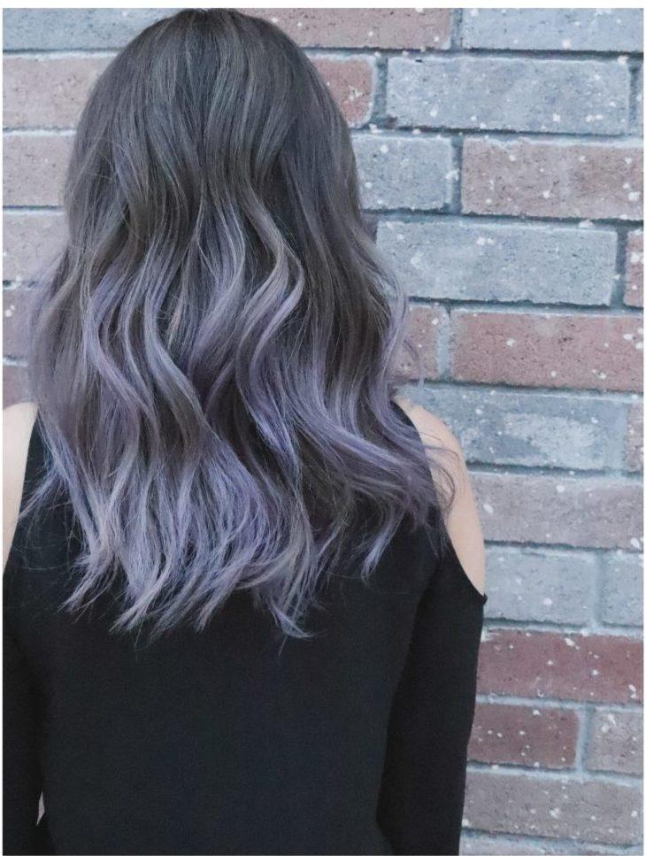 Light Purple Hair for Winter