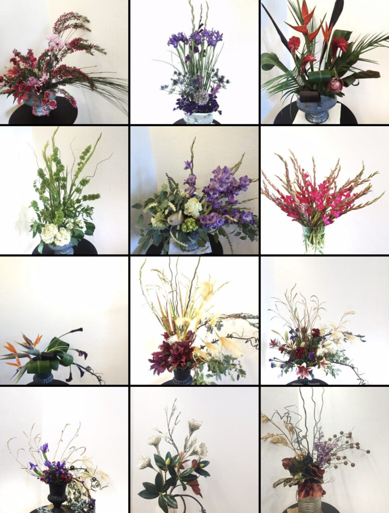 The Beauty of Flower Arrangement